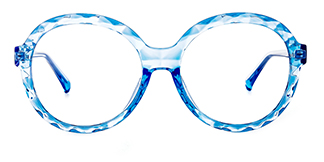 2010 Mahalia Round blue glasses