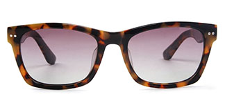 20153 Barrie Rectangle tortoiseshell glasses