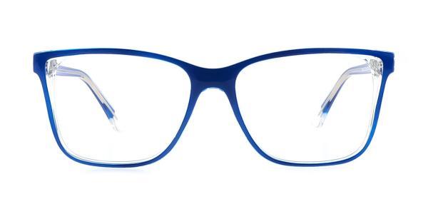 20156 Tamra Rectangle blue glasses
