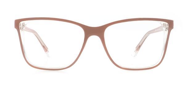 20156 Tamra Rectangle brown glasses