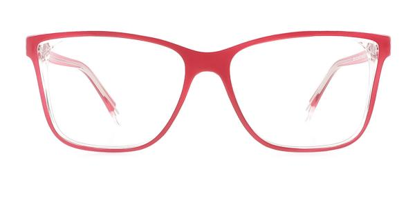 20156 Tamra Rectangle red glasses