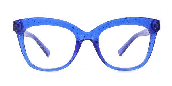 2017 Taliesin Cateye blue glasses