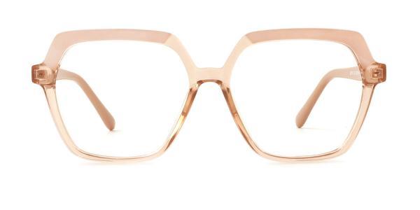 20188 Andrina Geometric brown glasses