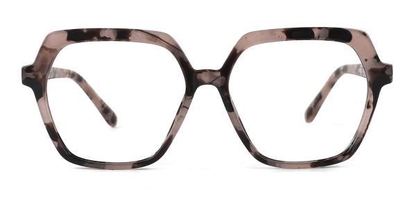 20188 Andrina Geometric tortoiseshell glasses