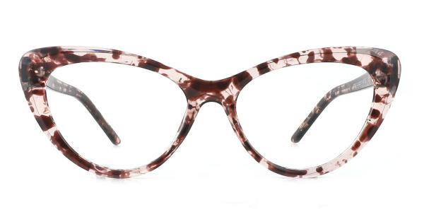 20201 Tammy Cateye tortoiseshell glasses