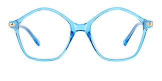 20204 Tess Geometric blue glasses