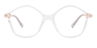 20204 Tess Geometric clear glasses