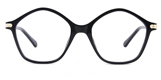 20204 Tess Geometric black glasses
