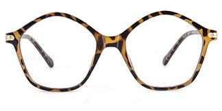 20204 Tess Geometric tortoiseshell glasses