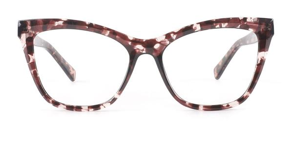 20213 Trish Cateye tortoiseshell glasses