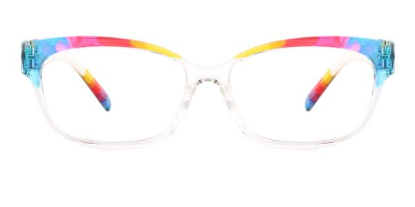 2023729 Penelope Rectangle multicolor glasses