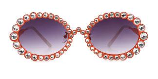 2026 Starlight Oval orange glasses