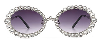 2026 Starlight Oval silver glasses