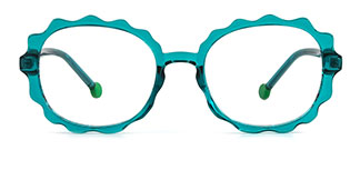20261 Aislin  green glasses