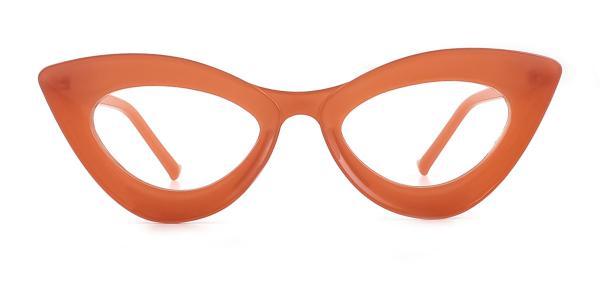 2034 Kalika Cateye brown glasses