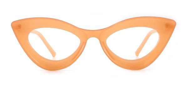 2034 Kalika Cateye orange glasses