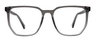 20341 Indiya Rectangle grey glasses