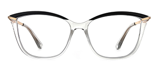 2036 Angelo Cateye clear glasses