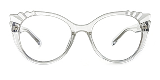 2037 Shana Cateye clear glasses