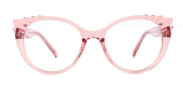 2037 Shana Cateye pink glasses