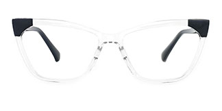 2040 Kaye Cateye clear glasses
