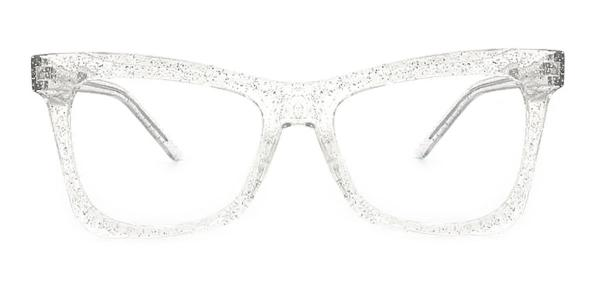 2042 Dagny Butterfly clear glasses