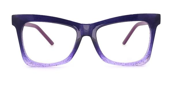 2042 Dagny Butterfly purple glasses