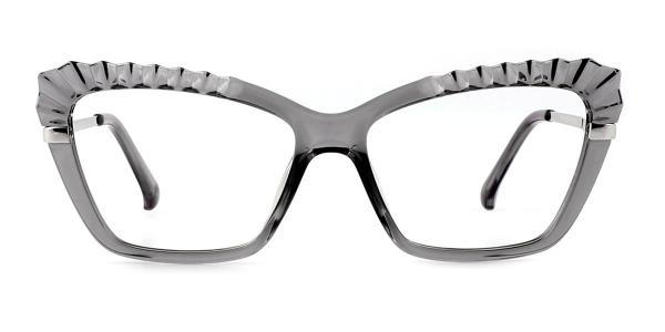 2046 Whalen Cateye grey glasses