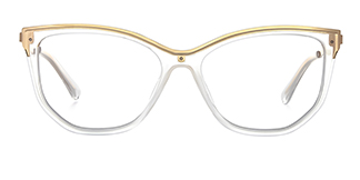 2048 Amma Cateye clear glasses