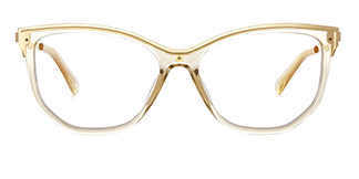 2048 Amma Cateye brown glasses