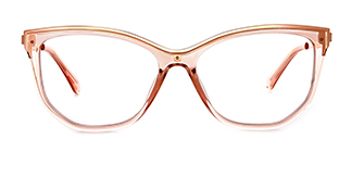 2048 Amma Cateye pink glasses