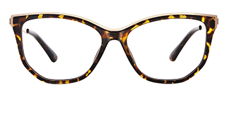2048 Amma Cateye tortoiseshell glasses