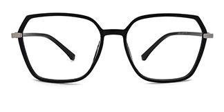20501 Fionnghuala Geometric black glasses