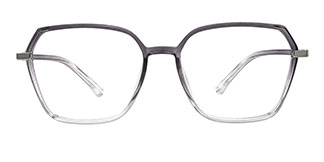 20501 Fionnghuala Geometric grey glasses