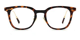 20506 Gisele Rectangle tortoiseshell glasses