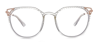 2054 Amory Cateye clear glasses