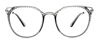2054 Amory Cateye grey glasses