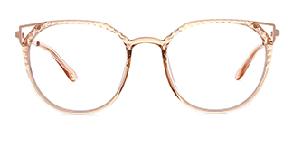 2054 Amory Cateye brown glasses