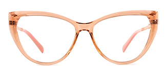 2062 Amarante Cateye brown glasses