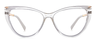 2062 Amarante Cateye clear glasses