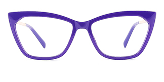 2064 hellen Cateye purple glasses