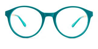 2066 Amir Round green glasses