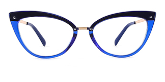 20701 Arden Cateye blue glasses
