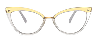 20701 Arden Cateye clear glasses