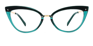 20701 Arden Cateye green glasses