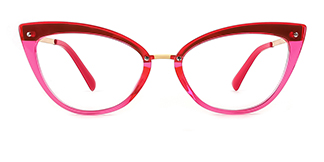 20701 Arden Cateye pink glasses