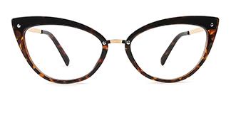 20701 Arden Cateye tortoiseshell glasses