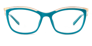 2071 Amaya Cateye green glasses