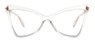 2077 Arleen Butterfly clear glasses