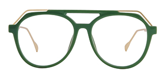2151 Annabal Aviator green glasses